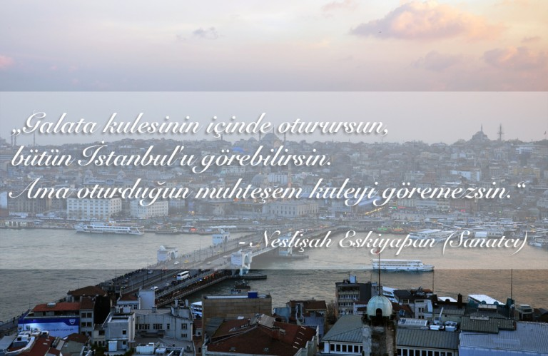 A few words about Istanbul, by some nice people ;)