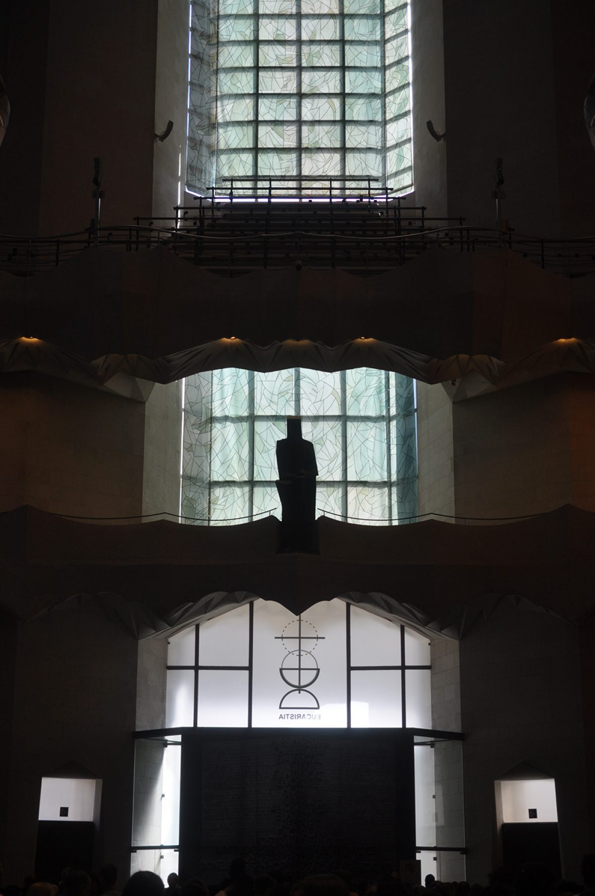 Sagrada Familia's moderne Seite